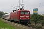 """AEG 21484 - DB R&T""""112 149-0"""" 12.09.2003 - Stralsund, RügendammDieter Römhild"""