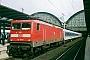 "AEG 21484 - DB R&T ""112 149-0"" 26.07.1999 - Frankfurt (Main), HauptbahnhofLeon Schrijvers"