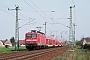 """AEG 21518 - DB Regio """"112 121-9"""" 08.04.2009 - Lübbenau (Spreewald)Hannes Müller"""