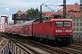 """AEG 21542 - DB Regio """"112 133-4"""" 08.07.2009 - Berlin, AlexanderplatzFabian Halsig"""