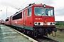 """LEW 14055 - DB Cargo """"155 001-1"""" 16.09.2001 - Sassnitz-Mukran (Rügen)Ernst Lauer"""