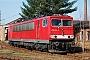 """LEW 14764 - DB Schenker """"155 004-5"""" 14.03.2009 - Hoyerswerda, BetriebswerkTorsten Frahn"""