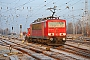"""LEW 14766 - DB Schenker """"155 006-0"""" 11.01.2011 - Rostock-SeehafenChristian Graetz"""