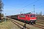 """LEW 14767 - DB Schenker """"155 007-8"""" 26.03.2012 - Rostock-SeehafenChristian Graetz"""