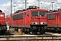"""LEW 14772 - Railion """"155 012-8"""" 07.08.2005 - Mannheim, BetriebswerkErnst Lauer"""