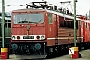 """LEW 14776 - DB AG """"155 016-9"""" 21.03.1996 - Mannheim, BetiebswerkWolfram Wätzold"""