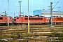 """LEW 14780 - DB AG """"155 020-1"""" 27.01.1996 - Mannheim, BetriebswerkErnst Lauer"""