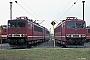 """LEW 14783 - DR """"250 023-9"""" 09.08.1990 - Engelsdorf (bei Leipzig), BetriebswerkIngmar Weidig"""