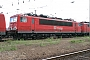 """LEW 14783 - Railion """"155 023-5"""" 23.05.2004 - Mannheim, BetriebswerkErnst Lauer"""
