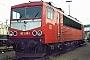 """LEW 15490 - DB AG """"155 039-1"""" 01.12.1996 - Mannheim, BetriebswerkErnst Lauer"""