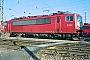 """LEW 15491 - DB AG """"155 040-9"""" 15.02.1998 - Mannheim, BetriebswerkErnst Lauer"""