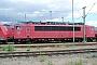 """LEW 15491 - Railion """"155 040-9"""" 11.07.2004 - Mannheim, BetriebswerkErnst Lauer"""