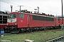 """LEW 15493 - Railion """"155 042-5"""" 03.03.2004 - Dresden-Friedrichstadt, BetriebswerkStefan Sachs"""