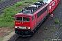 """LEW 15493 - DB Schenker """"155 042-5"""" 19.05.2010 - Bad Friedrichshall-JagstfeldStefan Sachs"""