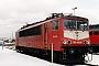 """LEW 15497 - DB AG """"155 046-6"""" 25.02.1999 - Leipzig-Engelsdorf, BetriebswerkOliver Wadewitz"""