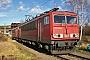 """LEW 15499 - DB Schenker """"155 048-2"""" 10.01.2015 - Saalfeld (Saale), BetriebswerkArchiv www.br143.de"""