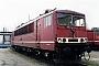"""LEW 15502 - DB AG """"155 051-6"""" 21.03.1999 - Leipzig-Engelsdorf, BetriebswerkOliver Wadewitz"""