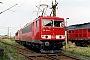 "LEW 15504 - DB Cargo ""155 053-2"" 18.08.2002 - Leipzig-Engelsdorf, BetriebswerkOliver Wadewitz"