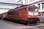 """LEW 15506 - DB AG """"155 055-7"""" 09.03.1997 - Mannheim, BetriebswerkErnst Lauer"""