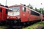 """LEW 15506 - DB AG """"155 055-7"""" 04.07.1999 - Leipzig-Engelsdorf, BetriebswerkOliver Wadewitz"""