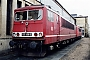 "LEW 15507 - DB Cargo ""155 056-5"" 26.12.1999 - Seddin, BetriebswerkOliver Wadewitz"