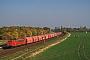 """LEW 15507 - DB Cargo """"155 056-5"""" 17.10.2018 - Schkeuditz, Haltepunkt WestAlex Huber"""