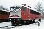 "LEW 15758 - DB Cargo ""155 061-5"" 26.12.2000 - Leipzig-Engelsdorf, BetriebswerkOliver Wadewitz"