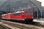 "LEW 15758 - DB Cargo ""155 061-5"" 25.03.2003 - Leipzig, HauptbahnhofOliver Wadewitz"