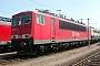 """LEW 15760 - DB Cargo """"155 063-1"""" 02.08.2003 - Mannheim, BetriebswerkErnst Lauer"""