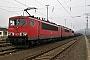"""LEW 15760 - DB Schenker """"155 063-1"""" 19.01.2014 - Saalfeld (Saale)Archiv www.br143.de"""