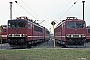 """LEW 16100 - DR """"250 024-7"""" 09.08.1990 - Engelsdorf (bei Leipzig), BetriebswerkIngmar Weidig"""