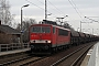 """LEW 16100 - DB Schenker """"155 024-3"""" 10.03.2012 - Dresden-StetzschBenjamin Fischer"""