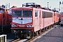 """LEW 16101 - Railion """"155 025-0"""" 23.01.2007 - Seddin, BetriebswerkRudi Lautenbach"""