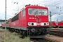 """LEW 16104 - Railion """"155 028-4"""" 11.07.2004 - Mannheim, BetriebswerkErnst Lauer"""
