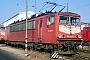 """LEW 16105 - DB AG """"155 029-2"""" 15.02.1998 - Mannheim, BetriebswerkErnst Lauer"""