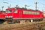 """LEW 16107 - Railion """"155 031-8"""" 20.09.2003 - Mannheim, BetriebswerkErnst Lauer"""