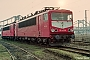 """LEW 16108 - Railion """"155 032-6"""" 29.02.2004 - Halle (Saale), Betriebswerk GStefan Sachs"""