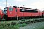 """LEW 16110 - DB Cargo """"155 034-2"""" 19.08.2001 - Mannheim, BetriebswerkErnst Lauer"""