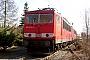 """LEW 16110 - Railion """"155 034-2"""" 02.04.2006 - Hoyerswerda, BetriebswerkTorsten Frahn"""