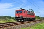 "LEW 16112 - DB Schenker ""155 036-7"" 06.08.2015 - bei Kiel-MeimersdorfJens Vollertsen"