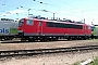 """LEW 16113 - Railion """"155 037-5"""" 30.05.2004 - Mannheim, BetriebswerkErnst Lauer"""
