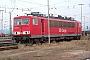 """LEW 16114 - DB Cargo """"155 038-3"""" 20.08.2003 - Mannheim, RangierbahnhofErnst Lauer"""
