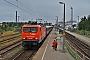 """LEW 16323 - EKO """"143 001"""" 07.08.2010 - Warnemünde, WerftChristian Graetz"""