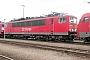 """LEW 16330 - DB Cargo """"155 070-6"""" 05.07.2003 - Mannheim, BetriebswerkErnst Lauer"""