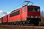 "LEW 16332 - Railion ""155 072-2"" 21.11.2008 - StralsundPaul Tabbert"