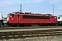 """LEW 16335 - DB AG """"155 075-5"""" 26.04.1998 - Weil am Rhein-Haltingen, BetriebswerkErnst Lauer"""