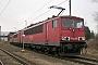 """LEW 16335 - DB Schenker """"155 075-5"""" 19.01.2014 - Saalfeld (Saale), BetriebswerkArchiv www.br143.de"""