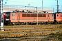 """LEW 16336 - DB AG """"155 076-3"""" 13.01.1996 - Mannheim, BetriebswerkErnst Lauer"""