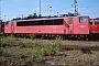 """LEW 16339 - DB AG """"155 079-7"""" 16.08.1998 - Mannheim, BetriebswerkErnst Lauer"""