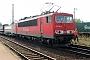 """LEW 16342 - DB AG """"155 082-1"""" 03.09.2005 - Mannheim-FriedrichsfeldErnst Lauer"""